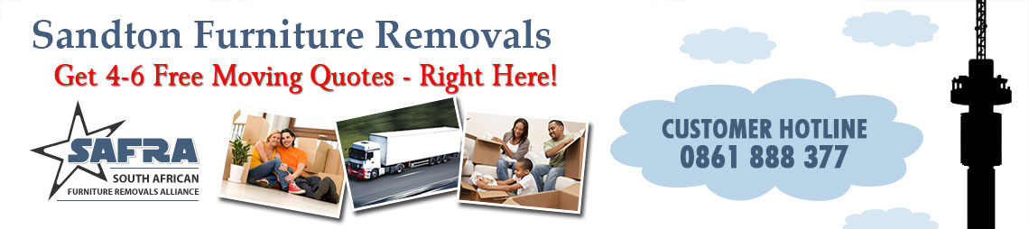 Sandton Furniture Removals & Storage | Sandton Removals
